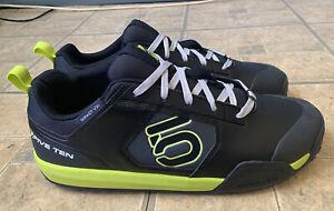 Five Ten Impact VXI Mountain Bike Shoes Black Semi-Solar Yellow Men Size 12 NEW