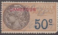 French Cameroun Revenue used 50c