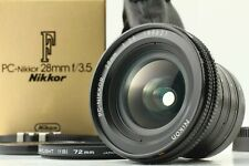 [TOP Mint in Box] Nikon PC-Nikkor 28mm F3.5 Shift Lens w/ Soft Case from Japan