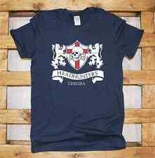 Maglia J375 chelsea headhunters Football tee London T-shirt Terrace ultras Skull