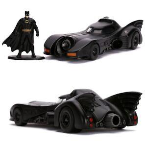 1/32 Jada Batmobile + Figurine Batman 1969 DC Comics Neuf Livraison Domicile
