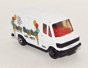 Maisto Die Cast Ford Van marked Party Supplies