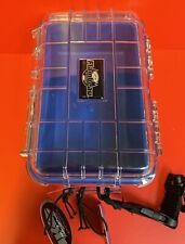 Flambeau 502Hd-1 Hd Series- Waterproof Tuff Box With Zerust Blue Liner Clear Lid