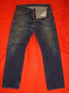 Jean Levi's 501 Bleu Used W32L30