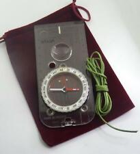 SILVA TYPE 4/54 MILITARY DEGREES  COMPASS FROM THE M.O.D.used NO BUBBLES