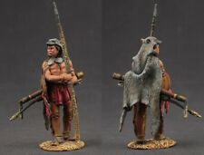 Tin toy soldiers  painted 54 mm Indian