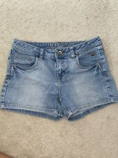 Casual Cute Justice Light Wash Jean Shorts Size 16R