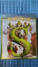 Shrek: The Whole Story (Blu-ray Disc, -4-Disc Set) New Factory Sealed Region A