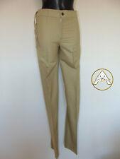 Vintage 80 COLMAR S 44 Pantaloni Leggeri Beige Donna NUOVO 80 NOS Old Stock