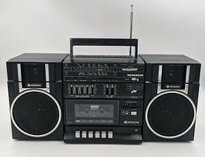 HITACHI TRK-9005H Portable Boombox AM/FM Radio Cassette Deck *very clean* tested