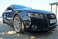 Seitenschweller ansätze schwarz Audi A5 S5 RS5 Skirts Leisten Schweller Ansatz