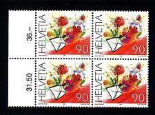SWITZERLAND - SVIZZERA - 2001 - Francobolli augurali. Congratulazioni