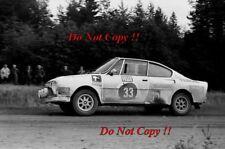 John Haughland Skoda 130 RS 1000 lagos fotografía Rally 1978 1