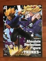 Banpresto Dragon Ball Z Absolute Perfection Figure Saiyan Trunks figure Japan