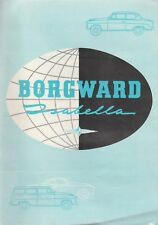 THE BORGWARD ISABELLA BROCHURE 1959?-ISABELLA COMBI,TS, AND COUPE
