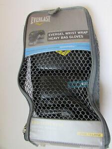 Everlast Boxing Evergel Wrist Wrap, Heavy Bag Gloves, Lg/ExLg, model 4301GLLXL,