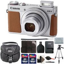 Canon Powershot G9 X Mark II Wi-Fi Digital Camera Silver with Accessory Kit