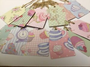 12 Vintage/Shabby Chic Gift Tags.