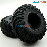 """4pcs RC Super Tires For 2.2"""" beadlock Wheel Rims Rock Crawler Truck rc4wd Axial"""