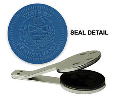 pennsylvania state seal embosser