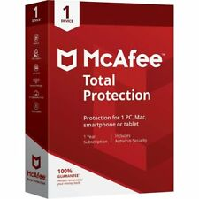 McAfee Total Protection 2019 1PC Windows 1 Year Antivirus PC Windows,mobile