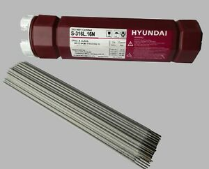 Schweißelektroden Edelstahl 1.4430 V4A 316 INOX NIRO Stabelektroden Ø 2,0-3,2mm