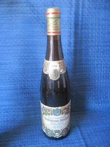 1Fl. 1967 Riesling Siegerrebe Mettenheimer Schlossberg  Trockenbeerenauslese 31