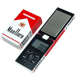 Digital Electronic LCD Mini Pocket Scales Gold Jewellery Weighing 0.1-500Grams