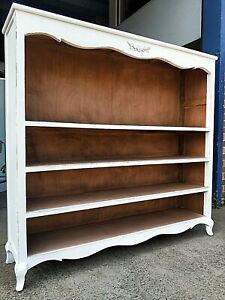 NEW SHABBY CHIC PROVINCIAL BOOKCASE SHELVES (111-818)