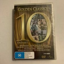 Golden Classics 10 DVD Set Genuine Universal Studios Movies Region 4 AU