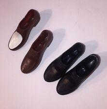 Lot Of 2 Pair Ken Shoes Black Barbie