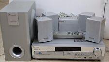 Panasonic SA-HT75 5-DVD Changer 5.1-Channel 190-Watt Home Theater System GREAT