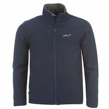 Men's Branded Gelert Softshell Jacket Top Inner Fleece Size S M L XL XXL Bright Green Large