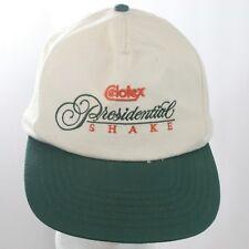 Vintage Celotex Presidential Shake Roofing Hat - Beige & Green Snapback Cap