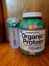 Vegan Protein Powder + Shaker Bottle Purely Inspired Organic Protein Powder 4LB