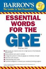 Essential Words for the GRE (Barron's Essential Words for the GRE) Geer, Philip