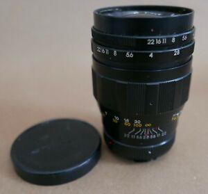 Soligor 135MM f2.8 Prime Lens, SR MC Mount, Excellent, Solid Quality