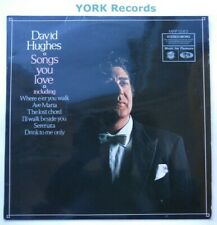 DAVID HUGHES - Songs You Love - Excellent Condition LP Record MFP 1262
