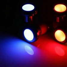Cycling Bicycle Bike Handlebar End Plug LED Light Safety Turn Signal Lamp DH