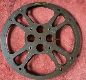 Ampro 16mm 12in Take Up Film Reel Vintage