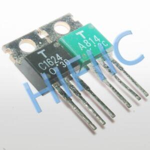 1Pairs 2SA814 2SC1624(A814 C1624) Transistors TO220