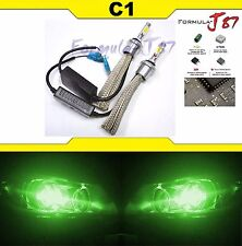 LED Kit C1 60W 881 Green Two Bulbs Head Light Replacement Snowmobile Lamp