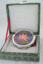 Cloisonne Lotus Blossom Compact Case w/gift box.