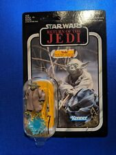 Star Wars The Vintage Collection VC20 Yoda Canadian Card Unpunched