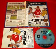 FIFA FOOTBALL 2004 Ps2 Versione Ufficiale Italiana 1ª Edizione ○ COMPLETO