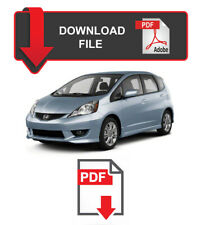 Honda Fit 2009 2010 2011 Factory Service Repair Workshop Manual USDM version