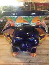 Large Pig Talavera Ceramic Pot