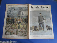 Le petit journal 1897 334 Accident navire russe Sissoï Veliky Insectes nuisibles
