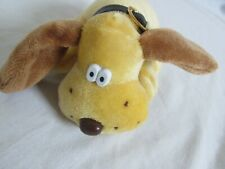 Vintage Kennel Twins By Tara Toy Co.Plush Dog with brown Collar