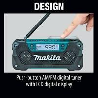 MAKITA RM02 NEW 12V Max CXT Li-Ion Cordless Compact Job Site Radio TOOL ONLY